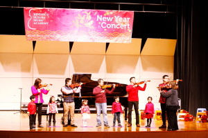 New Year's Concert Twinkle Group performance