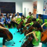 Cellos on Parade!
