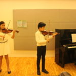 Reflections from the Performers:   Sophia and Edward, Book 3 Recital