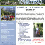 Suzuki in the Dolomites information