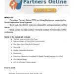 2018 Parents as Partners Online Conference!